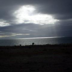 Atarceder en el Lago Pueyrredón