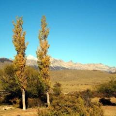 Cercanías del pueblo de Lago Posadas
