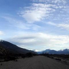 Ruta Provincial 39 hacia los lagos